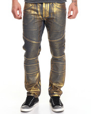 Buyers Picks - Gold Foil Moto Jean