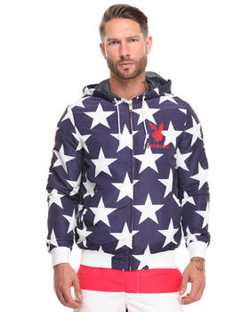 Joyrich - usa star playboy hooded jacket