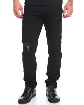 Denim - Newt Demon Slim Fit Rip Repair Jean