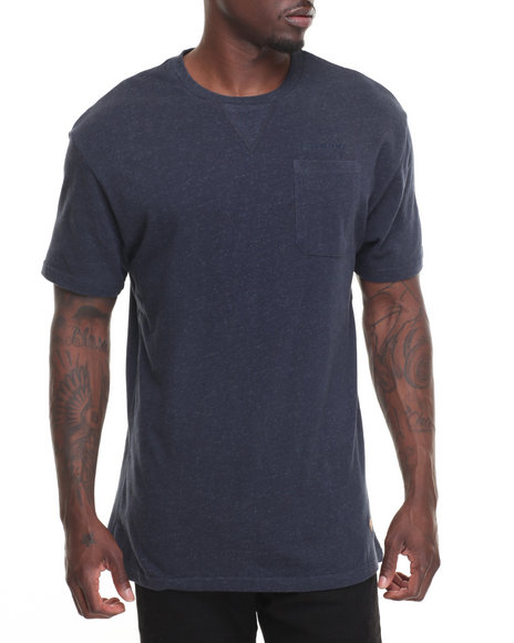 Diamond Supply Co Men Facet Pocket Tee Navy Medium