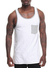 Men - Double Layer Tank