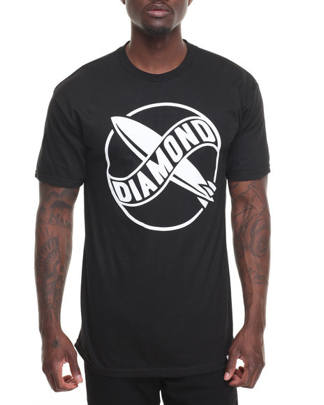 Diamond Supply Co Men Diamond Bimp Tee Black Medium