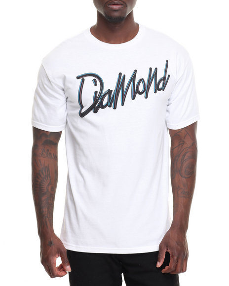 Diamond Supply Co Men Retrospective Tee White X-Large