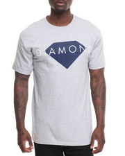Men - Diamond Solid Tee