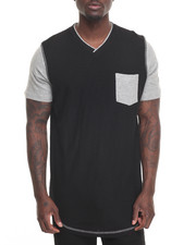 Men - Scallop V Tee