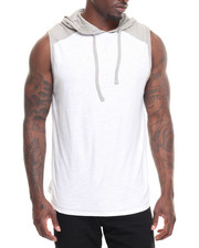 Buyers Picks - Core Colorblocked Sleeveless Hoodie