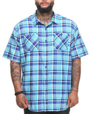 Ecko - Pattern 10 S/S Button-Down (B&T)