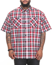 Big & Tall - Pattern 2 S/S Button-Down (B&T)