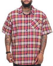 Big & Tall - Pattern 1 S/S Button-Down (B&T)