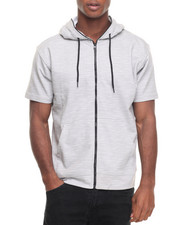 Buyers Picks - Melange S/S Full Zip Hoodie