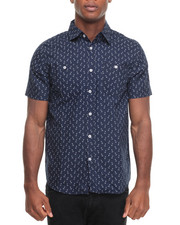 Buyers Picks - Anchors Away S/S Buttondown