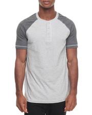 Short-Sleeve - Raglan S/S Henley