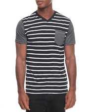 Men - Lincoln V Stripe Tee