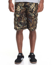 Men - Tropical Cargo Short - DK Chino