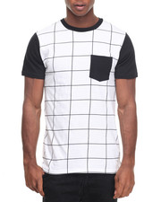 Buyers Picks - Grid Crewneck Tee