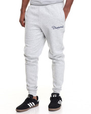 Men - Champagne Script Sweatpants