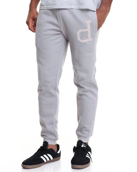 Diamond Supply Co Men School Yard Sweatpants Light Grey X-Large