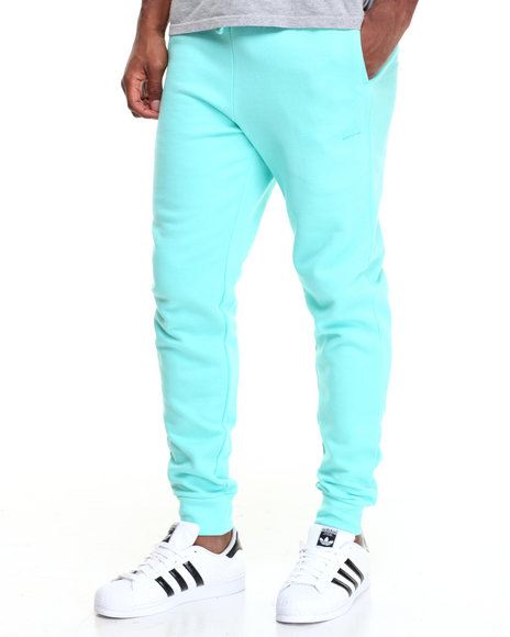 Diamond Supply Co Men Tonal Og Script Sweatpants Teal XX-Large