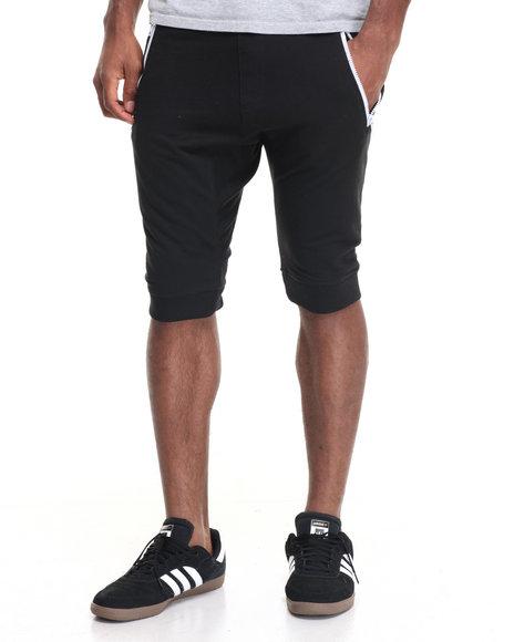 Buyers Picks Men Vislon Zip Fleece Short Black X-Large