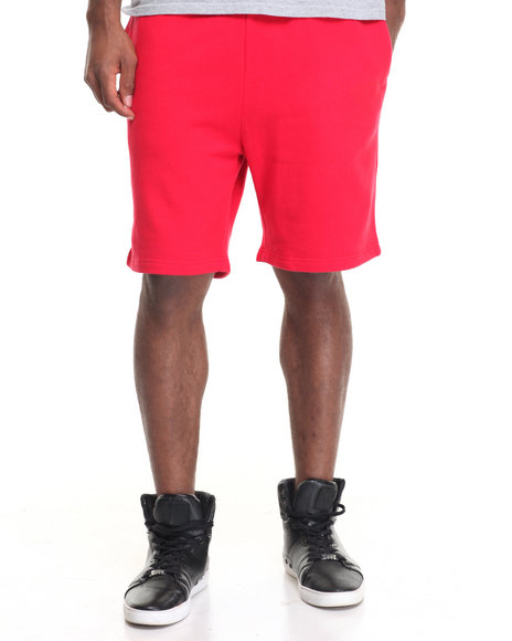 Diamond Supply Co Men Tonal Chest Brilliant Sweatshorts Red X-Large