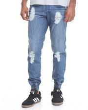 Jeans & Pants - Sage Distressed Denim Jeans