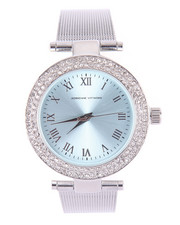 Jewelry - Mesh Bling Round Face Watch