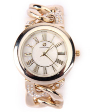 Jewelry - Bling Metal Links Watch