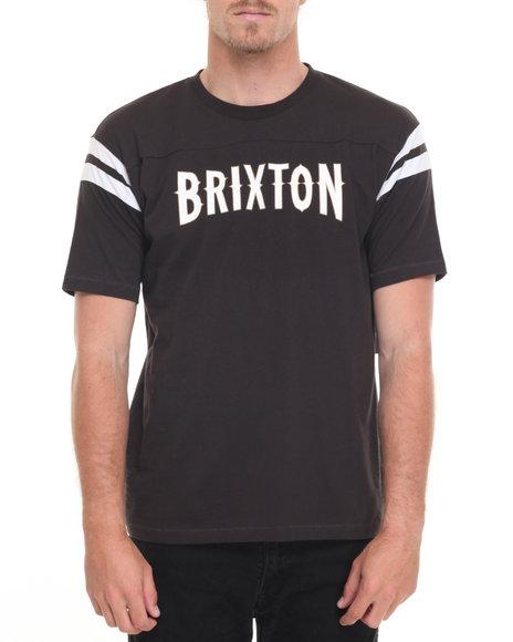 Brixton Men Benson S/S Knit Tee Black X-Large