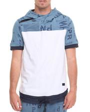 Shirts - Indigo Hoodie T-Shirt