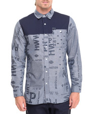 Men - L/S Printed Button-Down