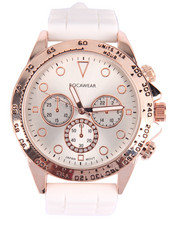 Rocawear - Rose Gold Face Ceramic Band Watch