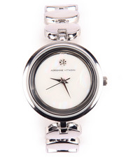 Jewelry - Diamond Dial Oval Links Metal Watch