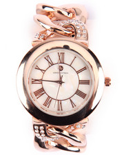 DRJ Accessories Shoppe - Bling Metal Links Watch