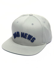 Men - Bad News Snapback Cap