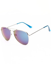 Women - Silver Sky Revo Aviator Sunglasses