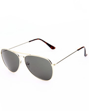 Women - Futuristic Glam Aviator Sunglasses
