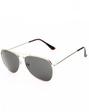 Sunglasses - Futuristic Glam Aviator Sunglasses