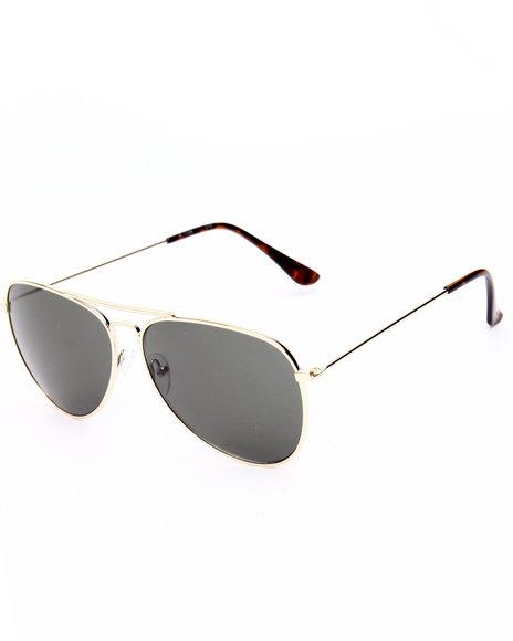 Drj Sunglasses Shoppe Women Futuristic Glam Aviator Sunglasses Gold 1SZ