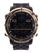 Rocawear - Digital Dial Textured Silicone Band Watch