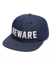 Men - Beware Hall of Fame Unconstructed Strapback Cap
