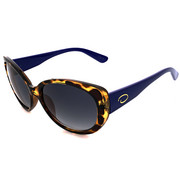 Accessories - Rounded Beveled Glam Cat Sunglasses