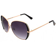 Accessories - Large Metal Glam Round Sunglasses