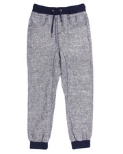 Bottoms - CHAMBRAY DROP CROTCH JOGGER (8-20)