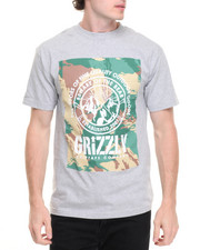 Men - Brushed Camo Banner Tee