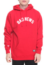 Men - Bad News Pullover Hoodie