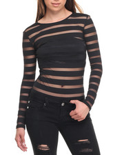 Fashion Lab - Shadow Stripe Bodysuit