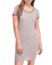 Fashion Lab - Tina Bodycon Rib Dress