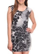Fashion Lab - Get It! Animal Print Bodycon Dress