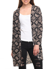 Fashion Lab - Long Sleeve Chiffon Cardigan