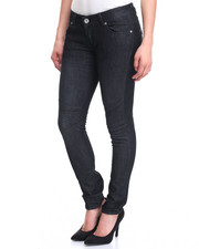 Fashion Lab - Dark Wash Moto Skinny Jean